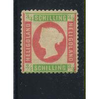 GB Германия Гельголанд 1873 Виктория Стандарт #9*