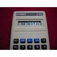 Калькулятор Casio производство Япония