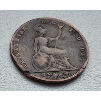 Великобритания 1 фартинг, 1840 8-7-17
