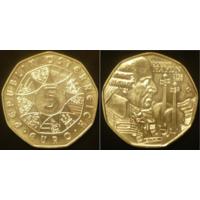 Австрия  5 евро 2009 г Гайдн
