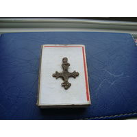 Редкий старинный нательный крестик       (3238)