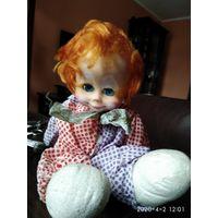 Кукла Рыжий Клоун СССР.