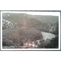 Деревня Трезебург в долине реки Боде (Германия) Конец 1930-х. Подписана. Марка.