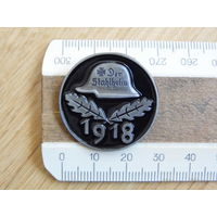 Der Stahlhelm 1918. Стальной шлем - членский значок.