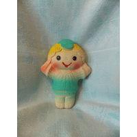 Кукла - резиновая игрушка СССР, пищалка