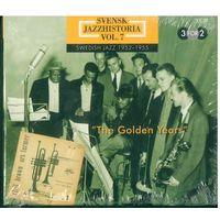 3CD box-set Various - Svensk Jazzhistoria Vol. 7 – Swedish Jazz 1952–1955 – The Golden Years (2000)