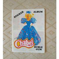 Альбом, наклейки New Chabel bubble gum.Барби.90г