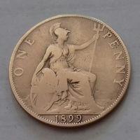 1 пенни, Великобритания 1899 г., королева Виктория