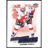 НХЛ сезон 2008-2009 FLEER Ultra Difference Makers IGINLA