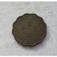 Гонконг 20 центов 1978