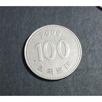 100 вон 2006 Корея