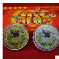 """Монеты """"Козы"""" подарочный набор с сертификатом и коробкой. распродажа"""