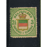 GB Германия Гельголанд 1876 Герб Стандарт #17*