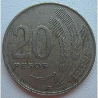 Уругвай 20 песо 1970 г. (d)
