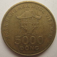 Вьетнам 5000 донг 2003 г. (d)