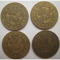 Тунис 50 миллимов 1983, 1993, 2009 гг. Цена за 1 шт. (g)