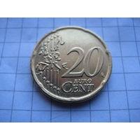 ГРЕЦИЯ 20 ЕВРОЦЕНТОВ 2002 ГОД