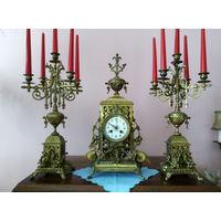 Каминные часы Франция