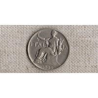 Италия 1 лира 1923 /(Va)