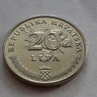 20 липа, Хорватия 1999 г., UNC