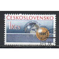 Чемпионат мира по волейболу среди женщин Чехословакия 1986 год серия из 1 марки