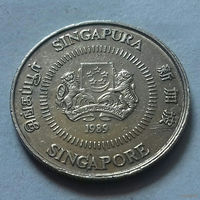10 центов, Сингапур 1989 г.
