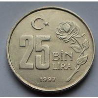 Турция, 25.000 лир 1997 г.