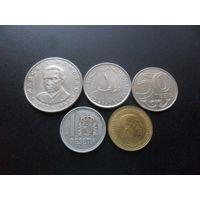 5 монет разных стран одним лотом