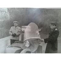 Грустный инспектор ГАИ