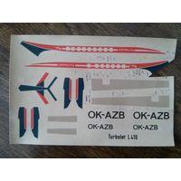 Декаль для L-410 Turbolet 1/100