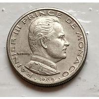 Монако 1/2 франка, 1965  3-4-1