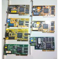 Первое поколение AGP-видеокарт на чипе S3 Trio 3D/2X (мини-коллекция)