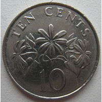 Сингапур 10 центов 2011 г.