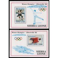 Сьера-Леоне Зимняя олимпиада 1992г.