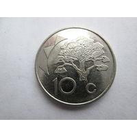 Намибия 10 центов 1998 год