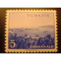 Турция 1958 г. Канаккале
