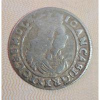 6 грошей 1665 г. АТ