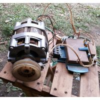 Электродвигатель асинхронный однофазный