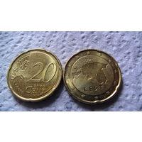 Эстония 20 евроцентов 2011г. распродажа
