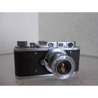 Фотоаппарат Зоркий 1953 г. с объективом Индустар-22 после полного сервиса