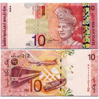 10 ринггит 1989, Малайзия, UNC