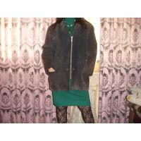 Куртка женская натуральная замша очень крепкая,без дыр