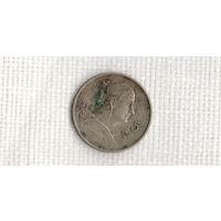 Мексика 5 сентаво 1950 белая редкая 1 год чекана //(МJ)