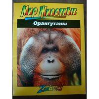Орангутаны. Серия ,,Мир животных,,. Подарок покупателю не менее 5 лотов
