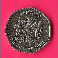 42-46 Ямайка, 1 доллар 1996 г.