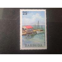 Барбуда 1974 плавучий остров