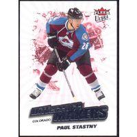 НХЛ сезон 2008-2009 FLEER Ultra Difference Makers STASTNY