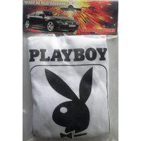 Чехлы на подголовники с логотипом Playboy 2шт