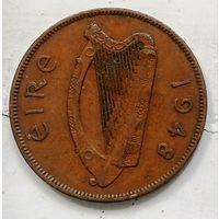 Ирландия 1 пенни, 1948 1-3-8
