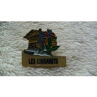 """Франция. Значёк """"LES LINDARETS"""". распродажа"""